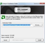 Скриншот ATI Mobility Radeon HD 4200 13.9