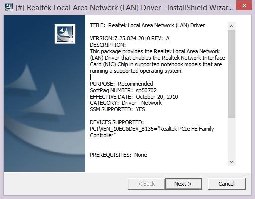 Lan driver for windows 7